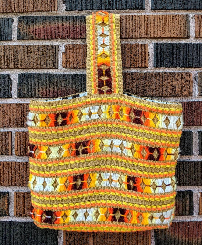 Crocheted Wool Purse